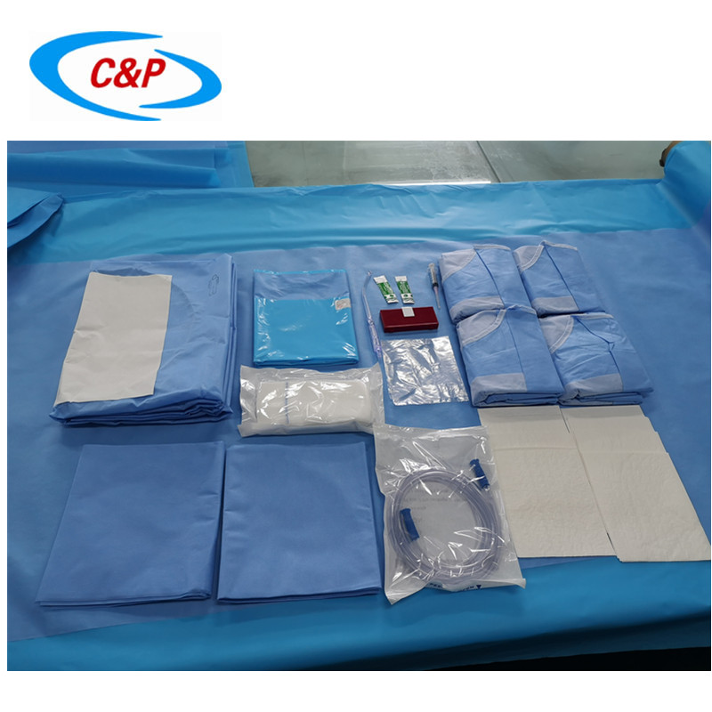 Disposable C-section Drape Pack
