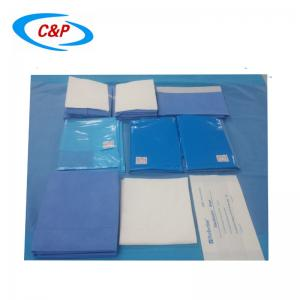 Obstetric drape pack