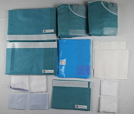 Protection and inspection of disposable surgical kits